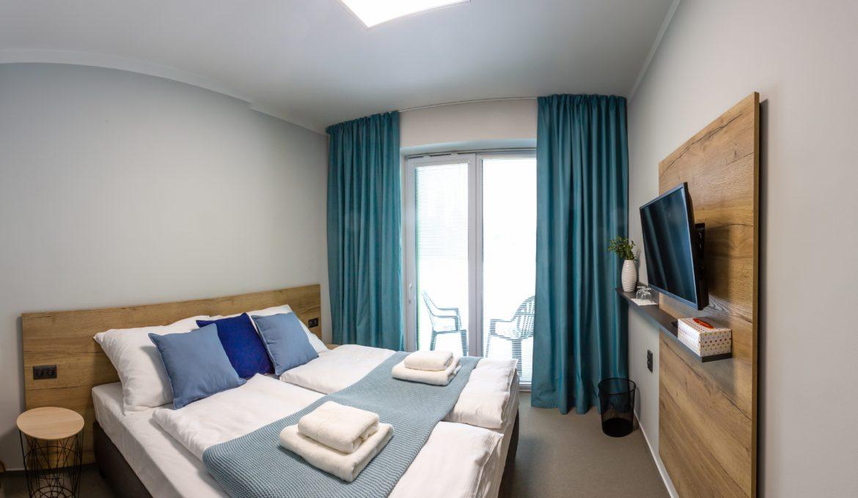Jedno či dvoulůžkový pokoj Standard s balkónem