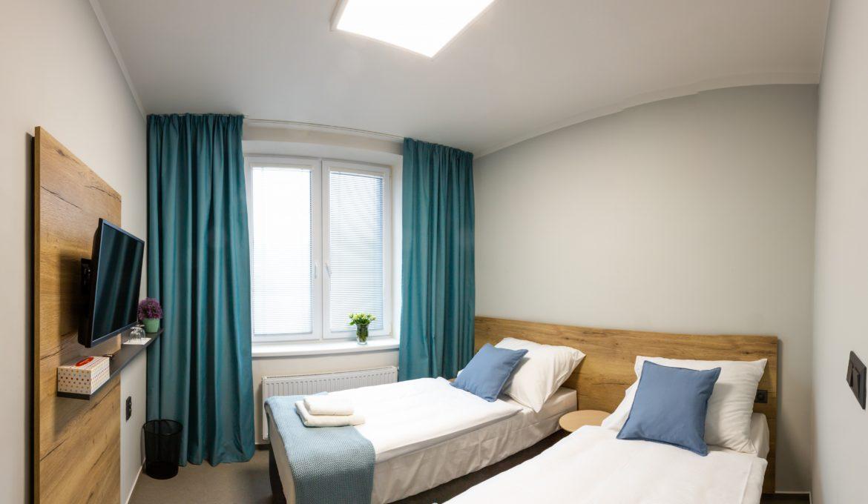 Jedno či dvoulůžkový pokoj Standard
