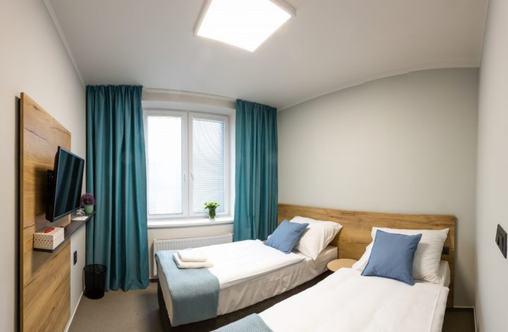 Single or double room Standard